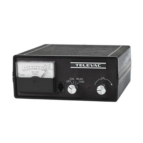 thermocouple vacuum gauge / analog / portable