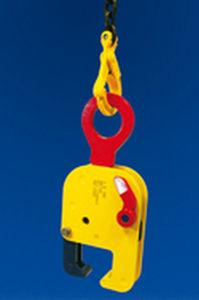 rail-mounted lifting clamp / horizontal