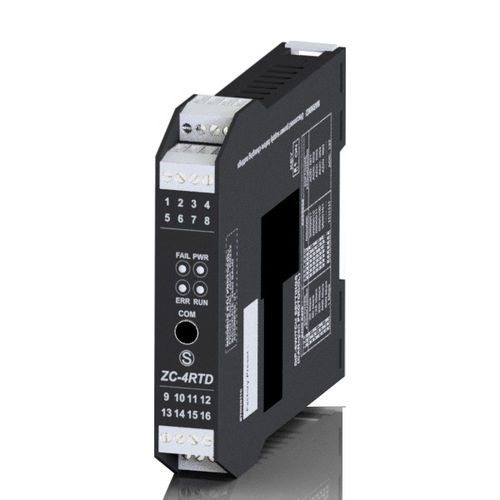 Analog input module / for RTD sensor ZC-4RTD | 4 Ch, CANopen SENECA - Automation Interfaces