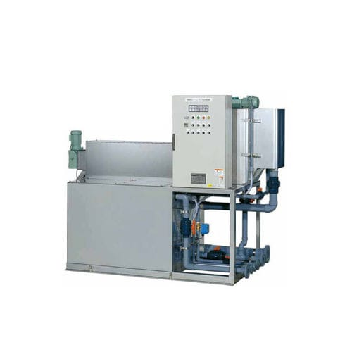 spiral filter press / automatic / for wastewater treatment