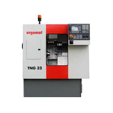 CNC automatic lathe / 2-axis / universal