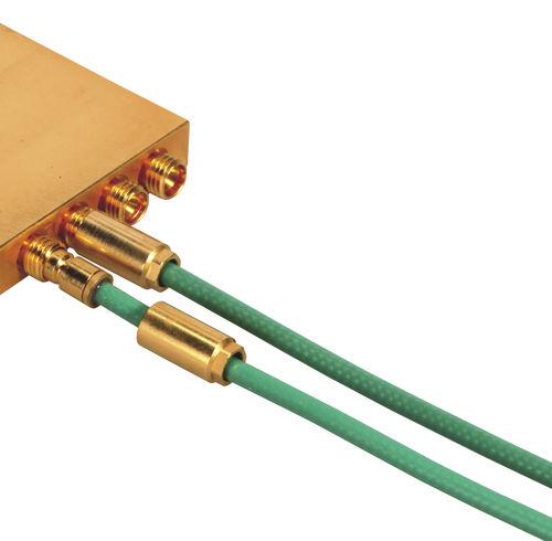 RF connector / coaxial / SMP / circular