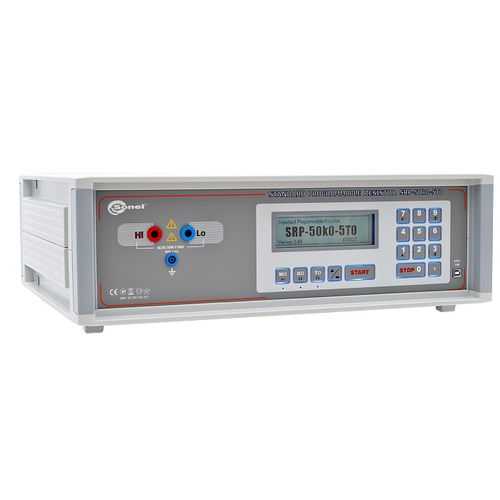 programmable calibrator / voltage / resistance / for insulation tester