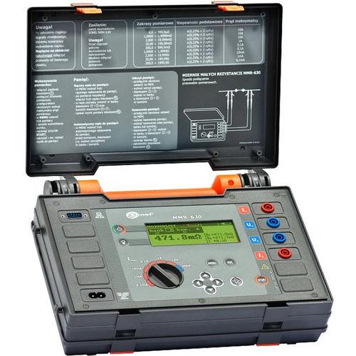 Microhmmeter / digital / mobile / low-resistance MMR-630 Sonel S.A.