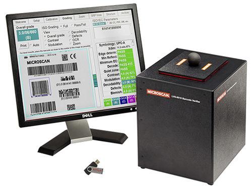 1D barcode verifier / 2D LVS-9510 Microscan Systems