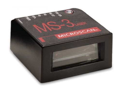 Fixed barcode reader / 2D / compact / laser MS-3 Microscan Systems