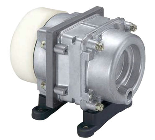 Air compressor / linear piston / oil-free / stationary 35 l/min | AC 0401A Nitto Kohki Deutschland