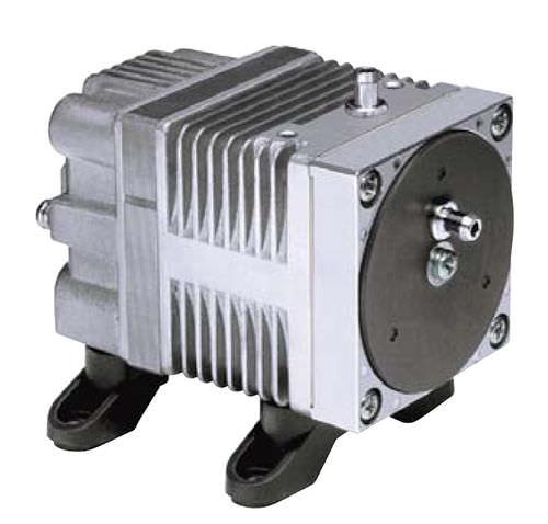 linear piston vacuum pump / oil-free / single-stage