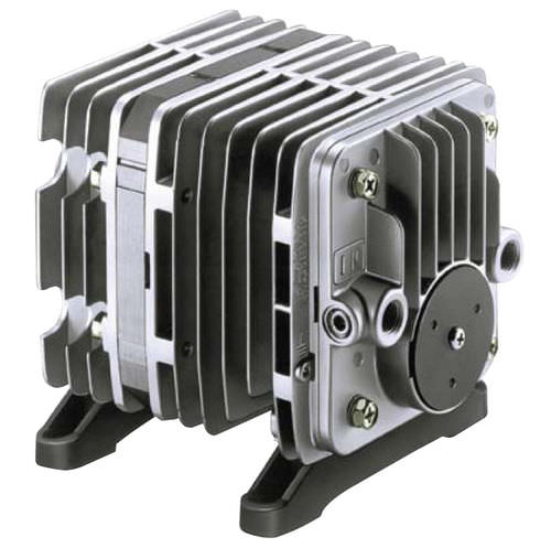 linear piston vacuum pump / oil-free / single-stage