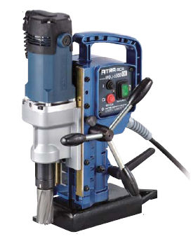 Electric drill / manually-controlled / magnetic base 870 rpm | WOJ-3200 Nitto Kohki Deutschland