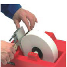 bench-top portable grinder / electric / for stone
