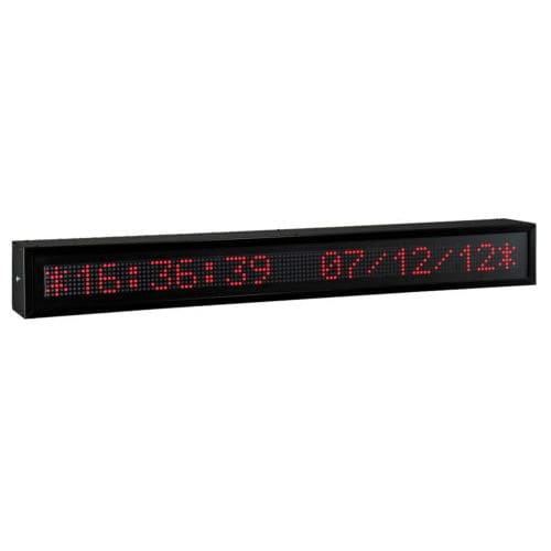 LED display / alphanumeric / large-format / IP65