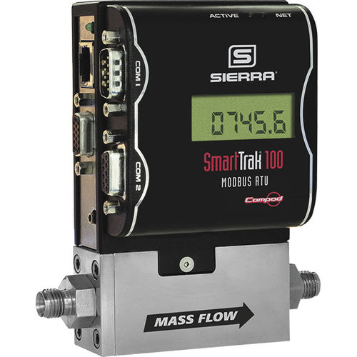 thermal mass flow controller / for gas / digital / analog