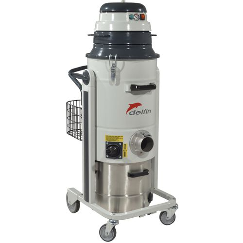 wet and dry vacuum cleaner / single-phase / for the food industry / for the chemical industry
