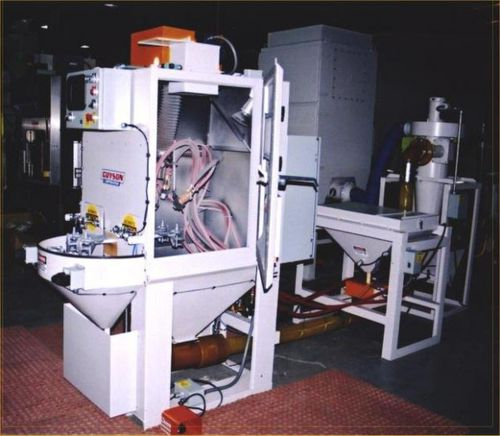 manual shot blasting machine / for metal / robotic