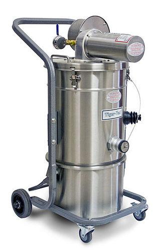 dry vacuum cleaner / compressed air / industrial / mobile