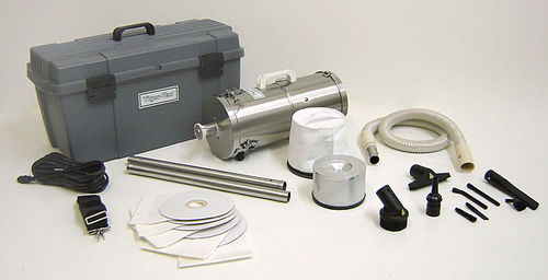 dry vacuum cleaner / single-phase / for clean rooms / mobile