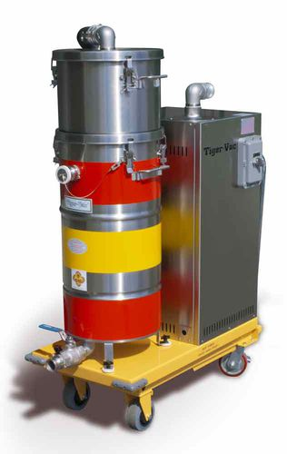 dry vacuum cleaner / for fuel / for solvents / single-phase
