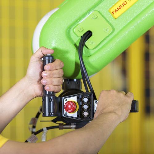 collaborative robot teaching handle