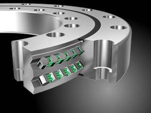 roller bearing / double-row / steel / high-precision