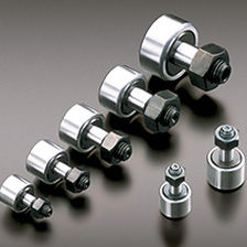 adjustable cam follower / stainless steel