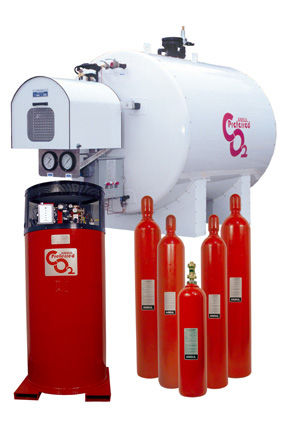 CO2 fire extinguishing system ANSUL