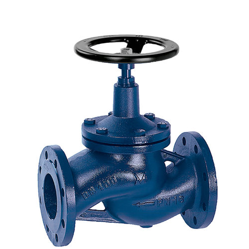 valve with bellows seal / globe / with handwheel / flow control