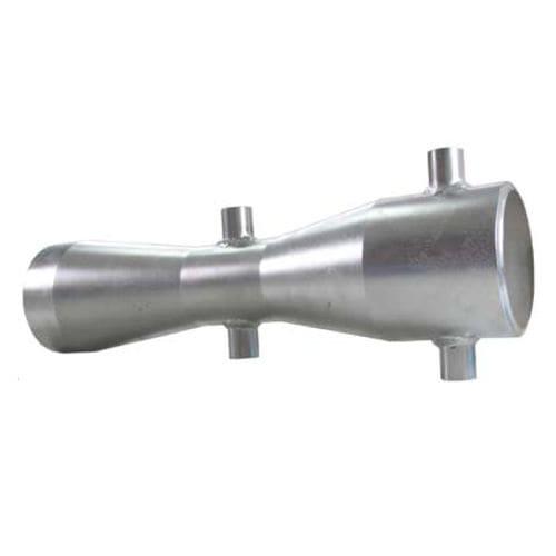 differential pressure flow meter / Venturi / for liquids / insertion