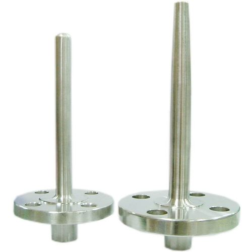 flange thermowell / brass / titanium / stainless steel