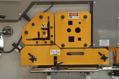 CNC ironworker / electric / bar / profile EKM ERMAKSAN