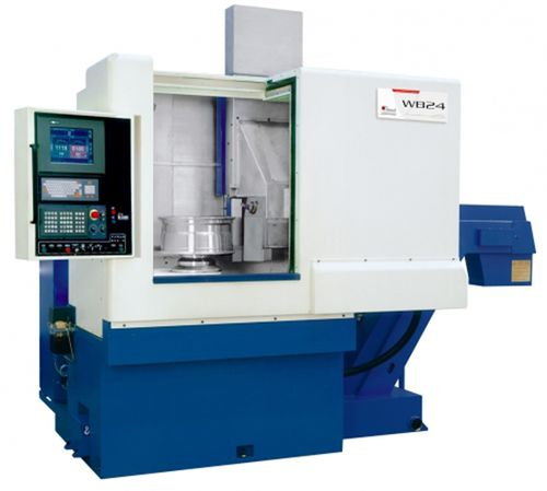 CNC lathe / vertical / 2-axis / high-speed