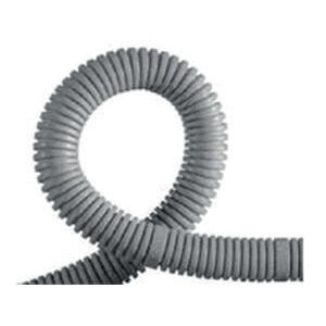 protection conduit / corrugated / for electrical cables / plastic