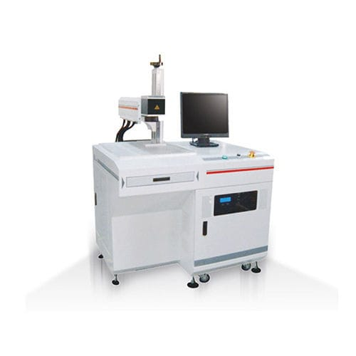 laser marking machine / high-speed / desktop / deep