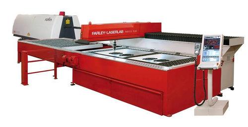 Stainless steel cutting machine / CO2 laser / profile / CNC Profile 3015/6015, QAC Farley Laserlab