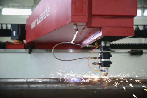 Steel cutting machine / laser / CNC / for slotted steel tubes Farley Laserlab