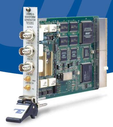 Arbitrary waveform generator / PXI card 125 MS/s, 100 µHz-50 MHz | 5201 Tabor Electronics