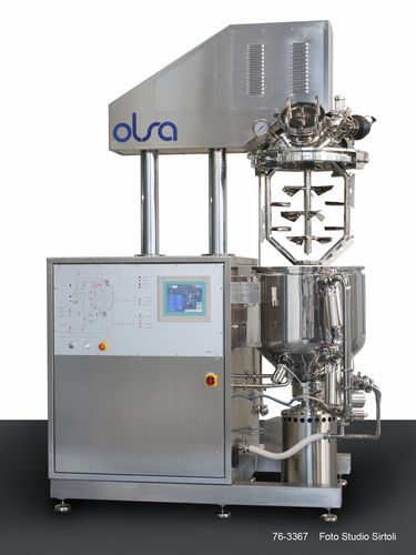 Rotor-stator homogenizer / batch / for pharmaceutical applications / vacuum Speedymix OLSA