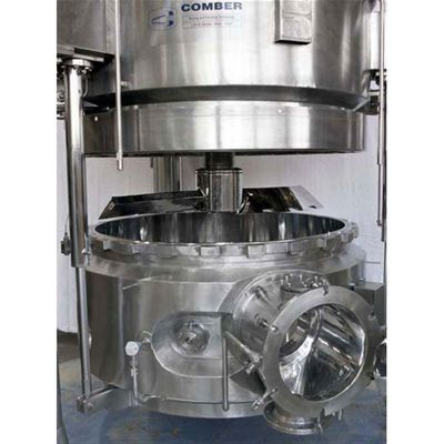 vacuum dryer / continuous / mixer / cleaning