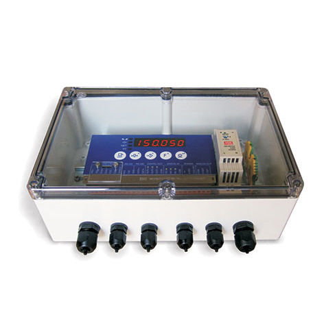 DIN rail junction box / plastic / with transparent cover