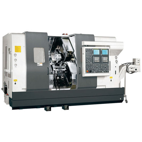 CNC lathe / Y-axis / four-turret / double-spindle