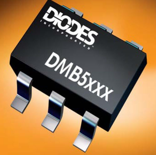 Bipolar transistor / MOSFET / switching DMB series Diodes Incorporated