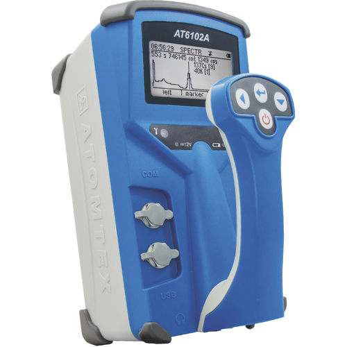 gamma spectrometer / laboratory / portable / monitoring