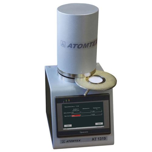 alpha-beta counter / digital / for samples