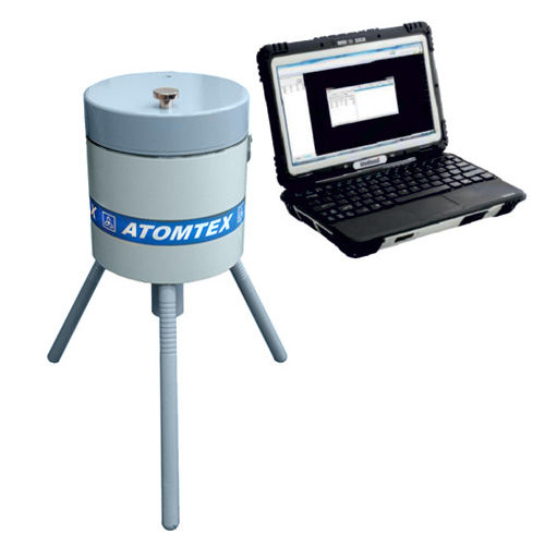 gamma spectrometer / process