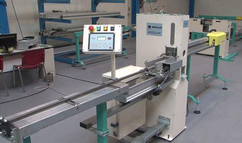 automatic punching machine / CNC / servo-electric / for profiles