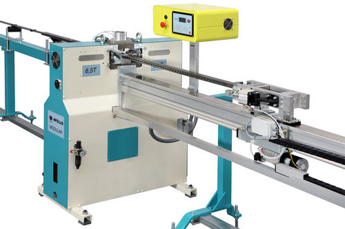 automatic punching machine / electric / for profiles / tube
