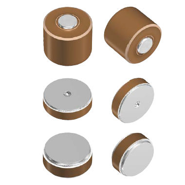 ceramic capacitor / cylindrical / high-voltage
