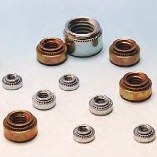 Crimp nut / steel AMECA