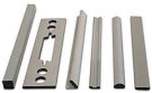 profiled seal / copper / EMI shielding / conductive fabric over foam