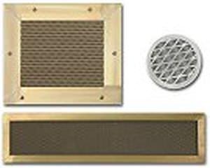 metal ventilation grill / EMC / honeycomb